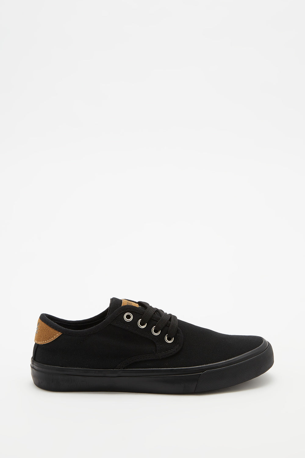 Zoo York Boys Canvas Skate Shoes Black