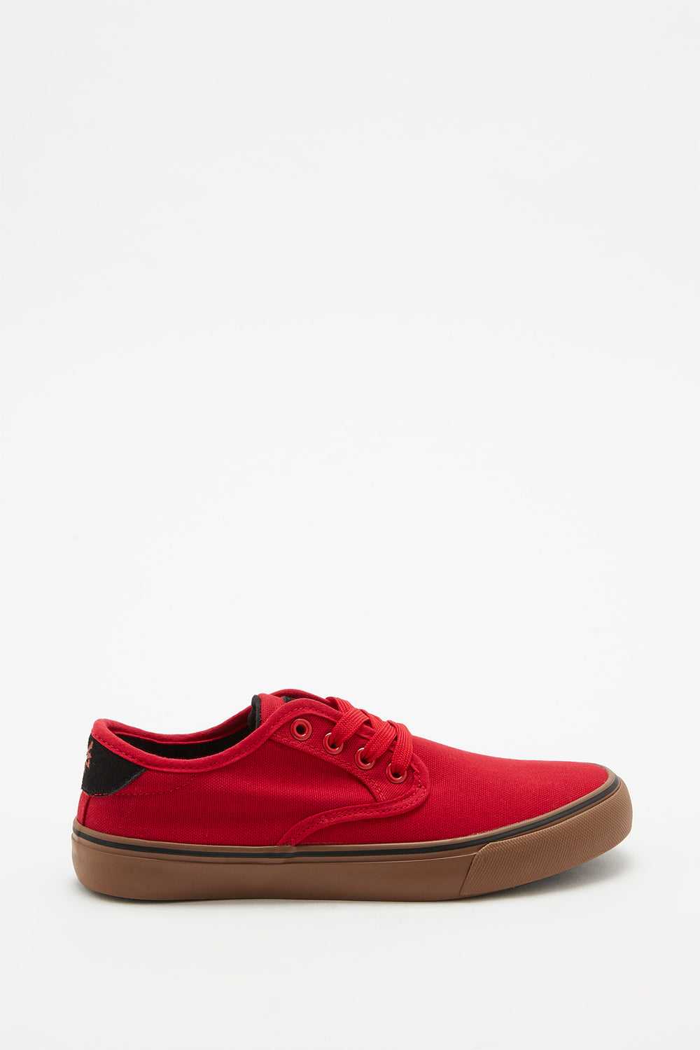 Zoo York Boys Canvas Skate Shoes Red