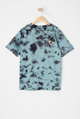 Young & Reckless Youth Tie-Dye Rose Logo T-Shirt