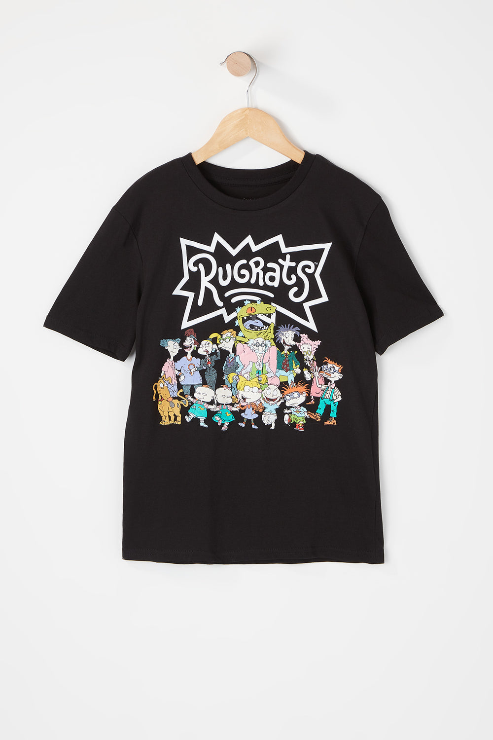 T-Shirt Rugrats Junior Noir