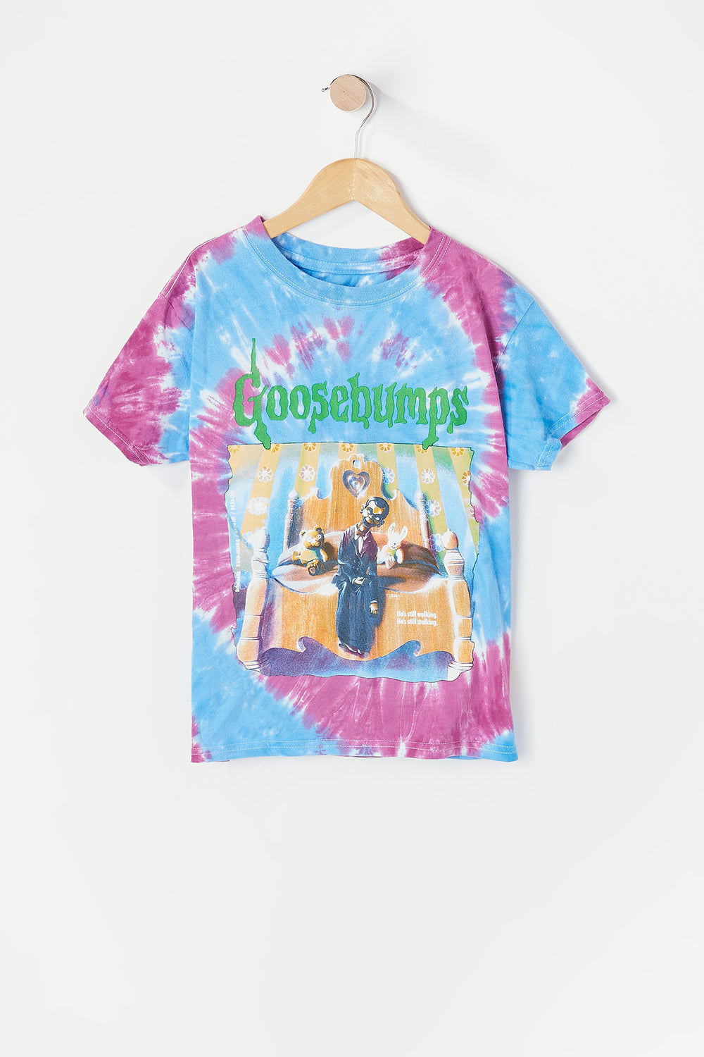 Youth Goosebumps T-Shirt Purple