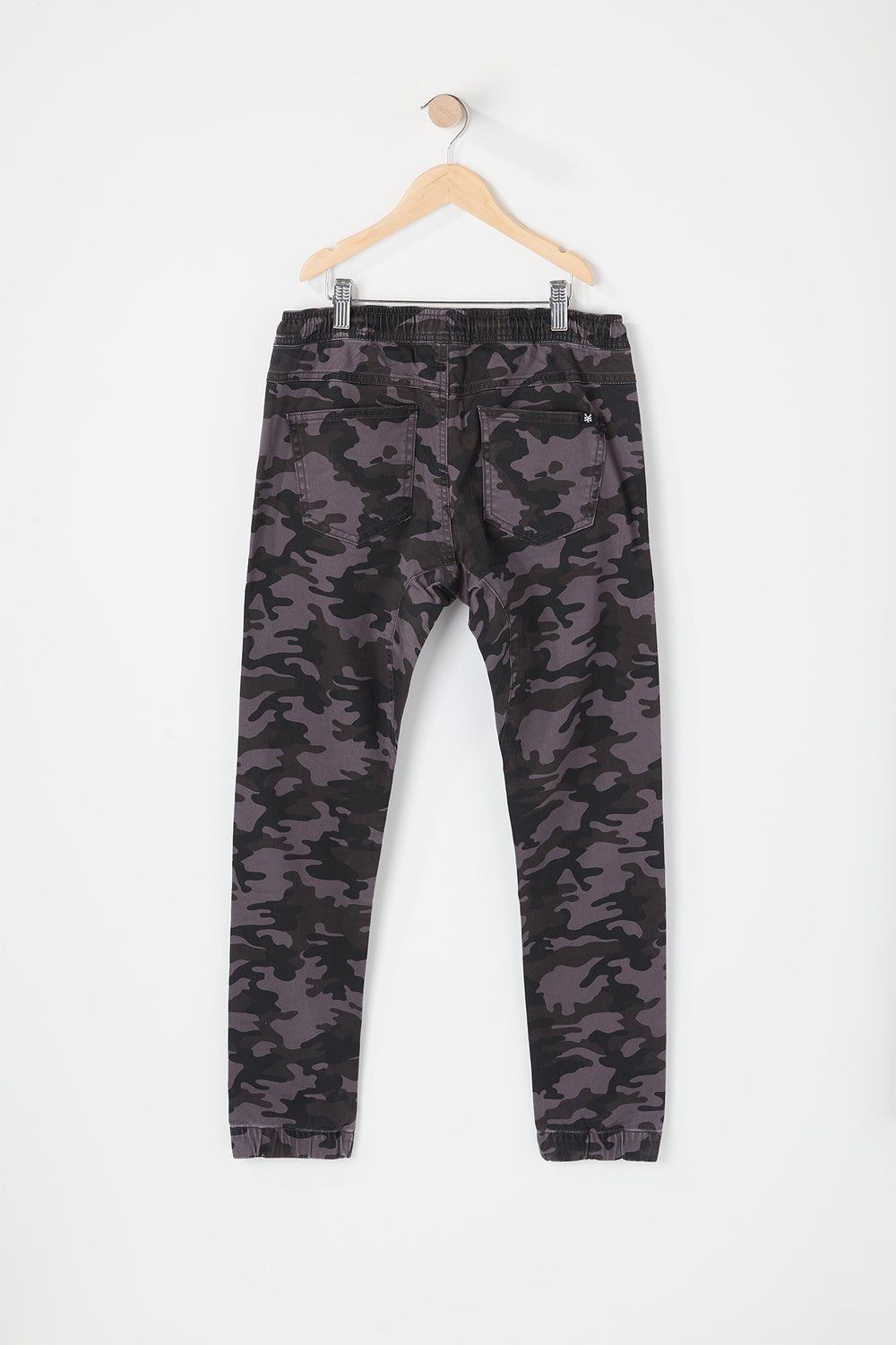 Jogger 5 Poches Camouflage Zoo York Junior Carreaux