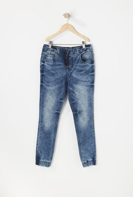 Jogger Jean Bleu Junior