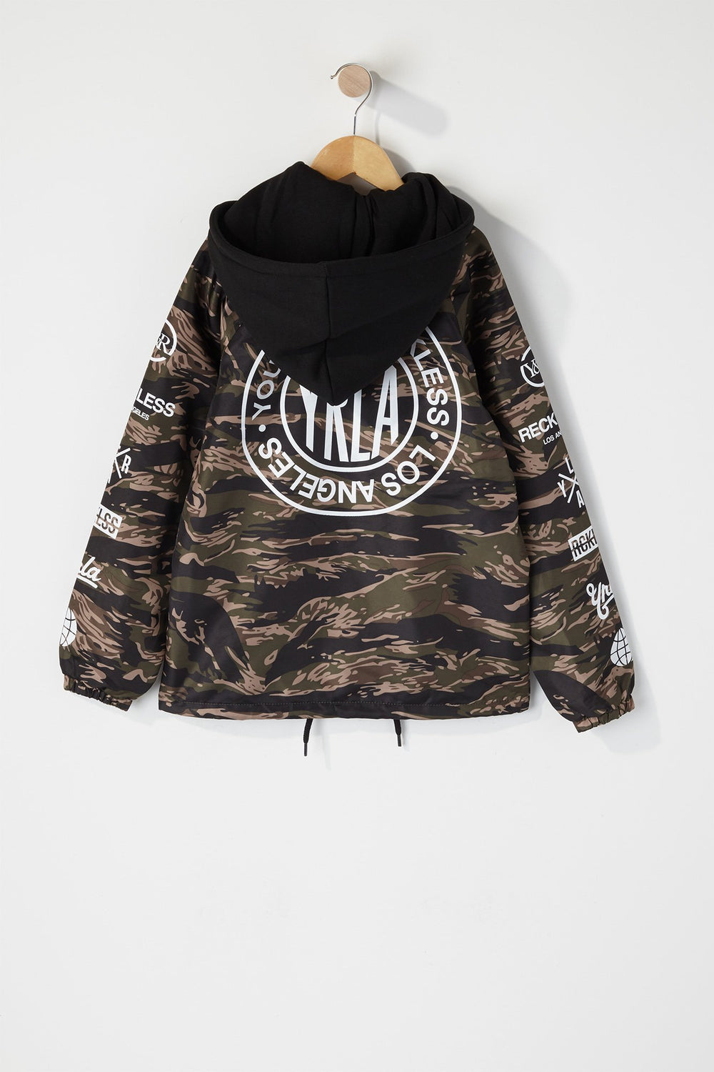 Manteau Camouflage Young & Reckless Garçon Camoufle
