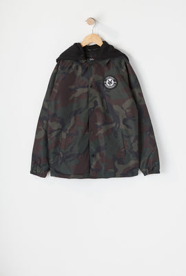 Zoo York Youth Hooded Coach Jacket
