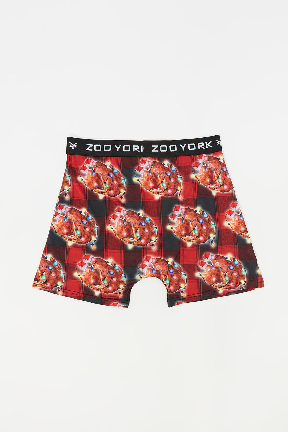 Boxer Dinde Zoo York Junior Rouge