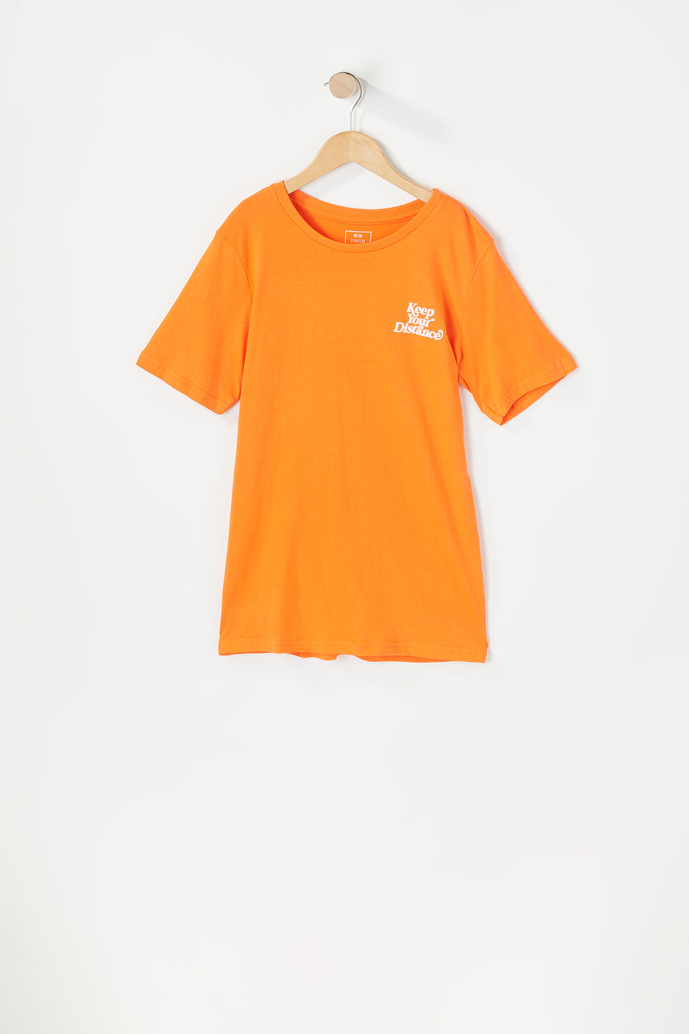 T-Shirt Keep Your Distance Young & Reckless Junior Orange