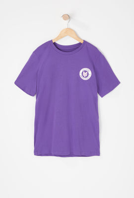 T-Shirt Logo Cercle Zoo York Junior