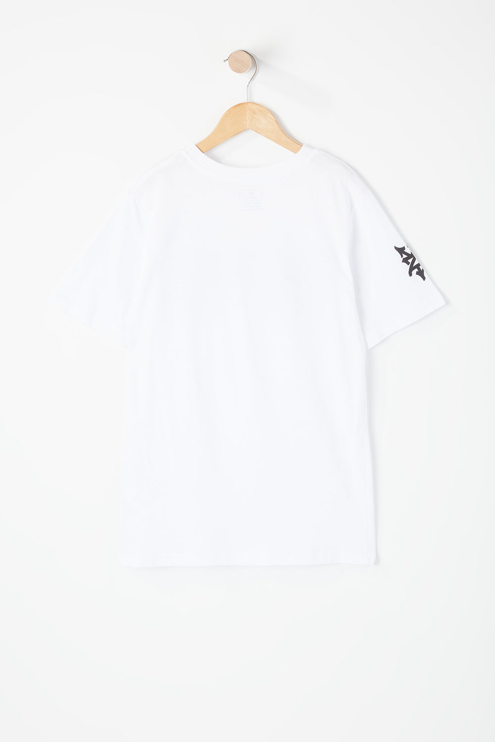 T-Shirt Logo Zoo York Junior Blanc