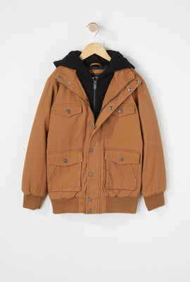 West49 Boys Hooded Jacket