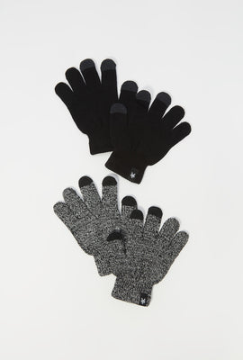 Zoo York Youth Touch Screen Gloves 2-Pack