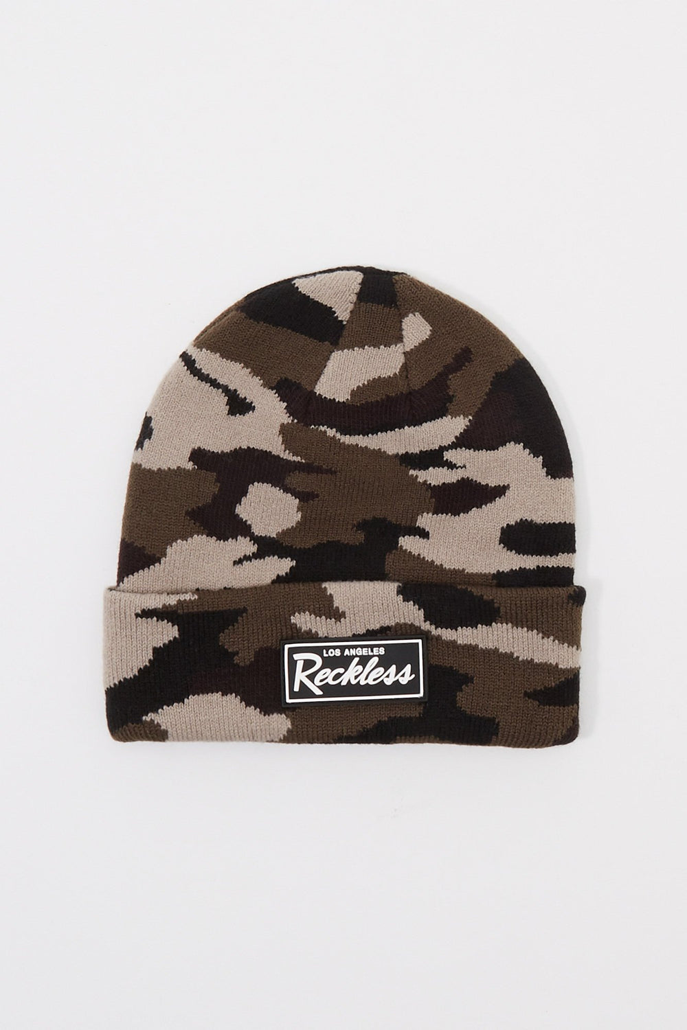 Young & Reckless Boys Camo Beanie Camouflage