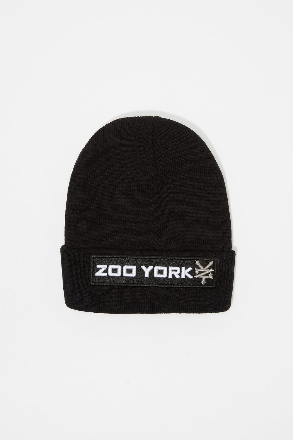 Tuque Logo Patch Zoo York Junior Noir