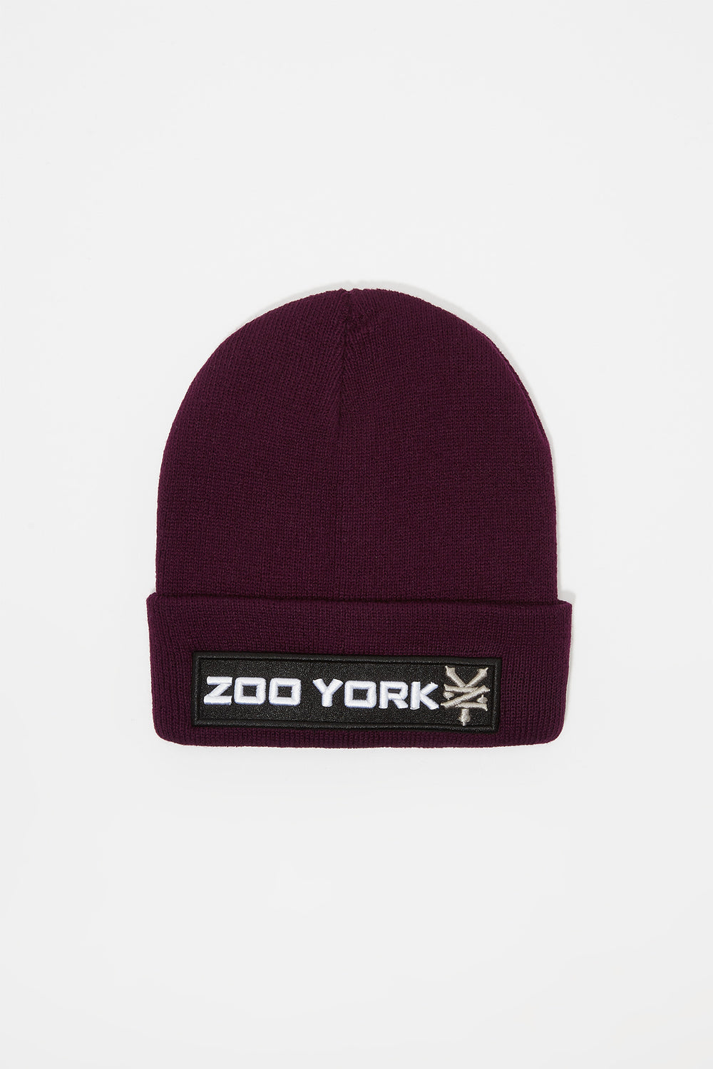 Tuque Logo Patch Zoo York Junior Aubergine