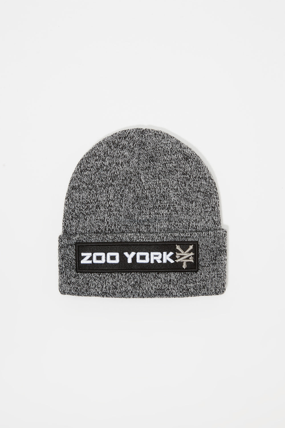 Tuque Logo Patch Zoo York Junior Noir et blanc
