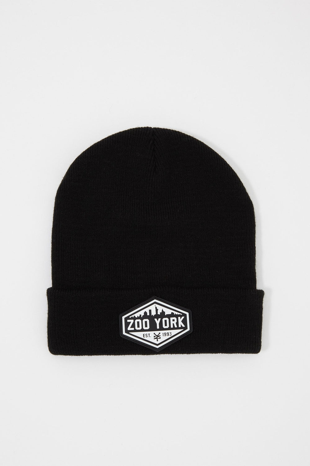 Zoo York Boys Rubber Logo Beanie Black