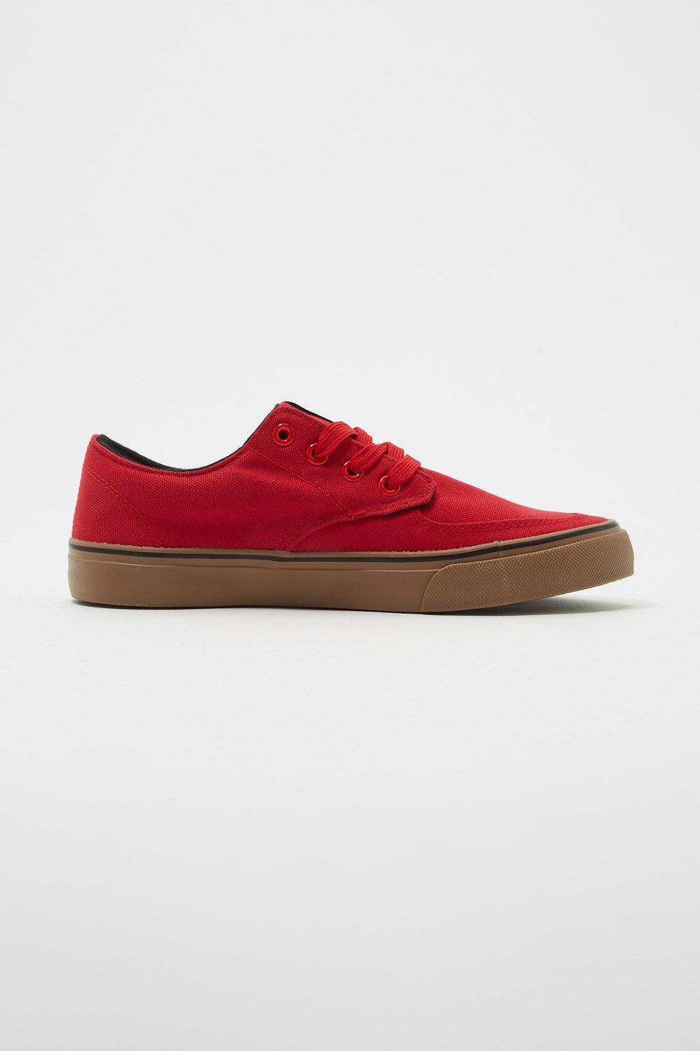 Zoo York Boys All Black Ryan Canvas Shoes Red