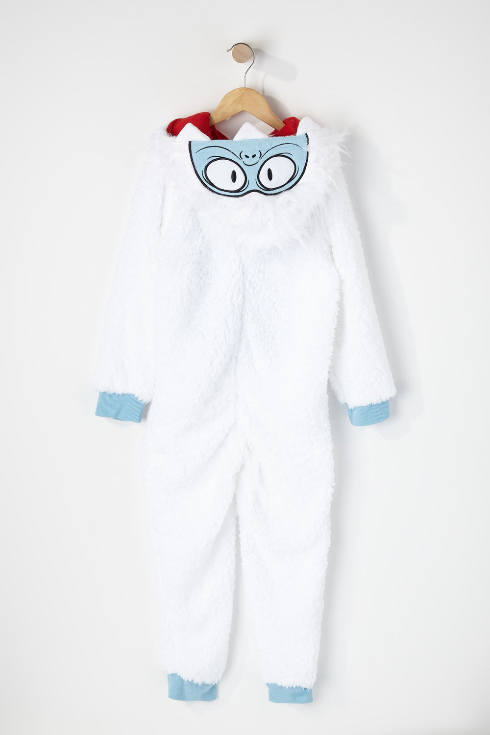 Youth Yeti Onesie White