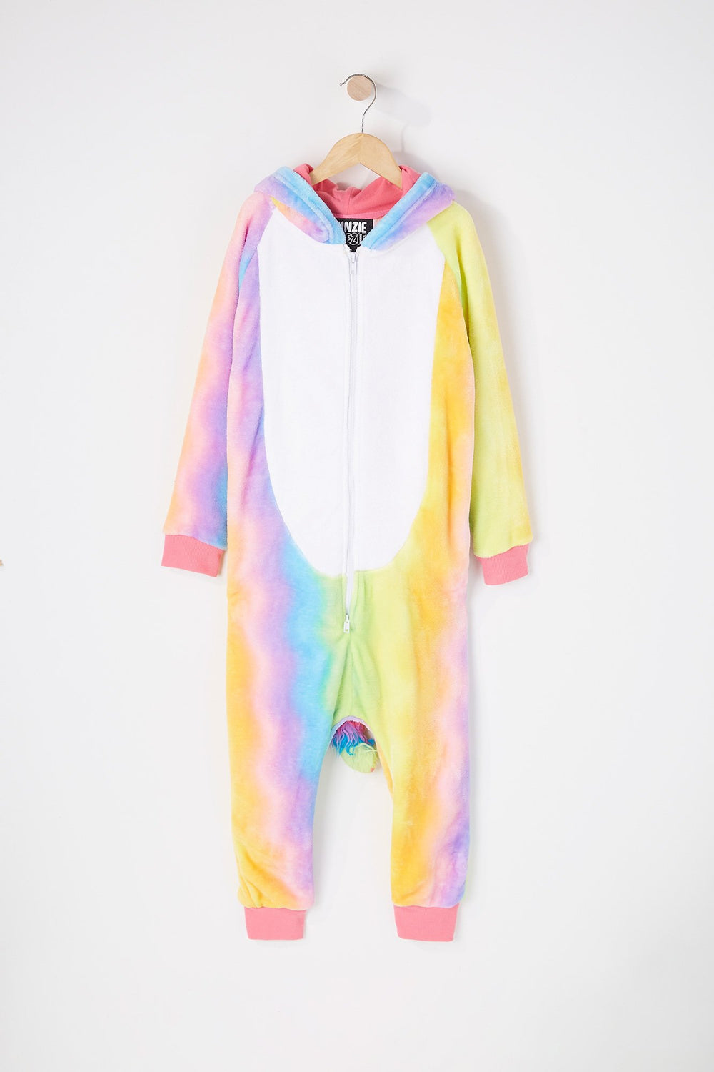 Youth Rainbow Unicorn Onesie Multi