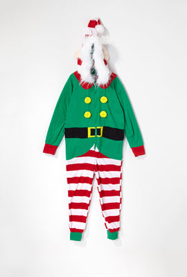 Youth Christmas Elf Onesie