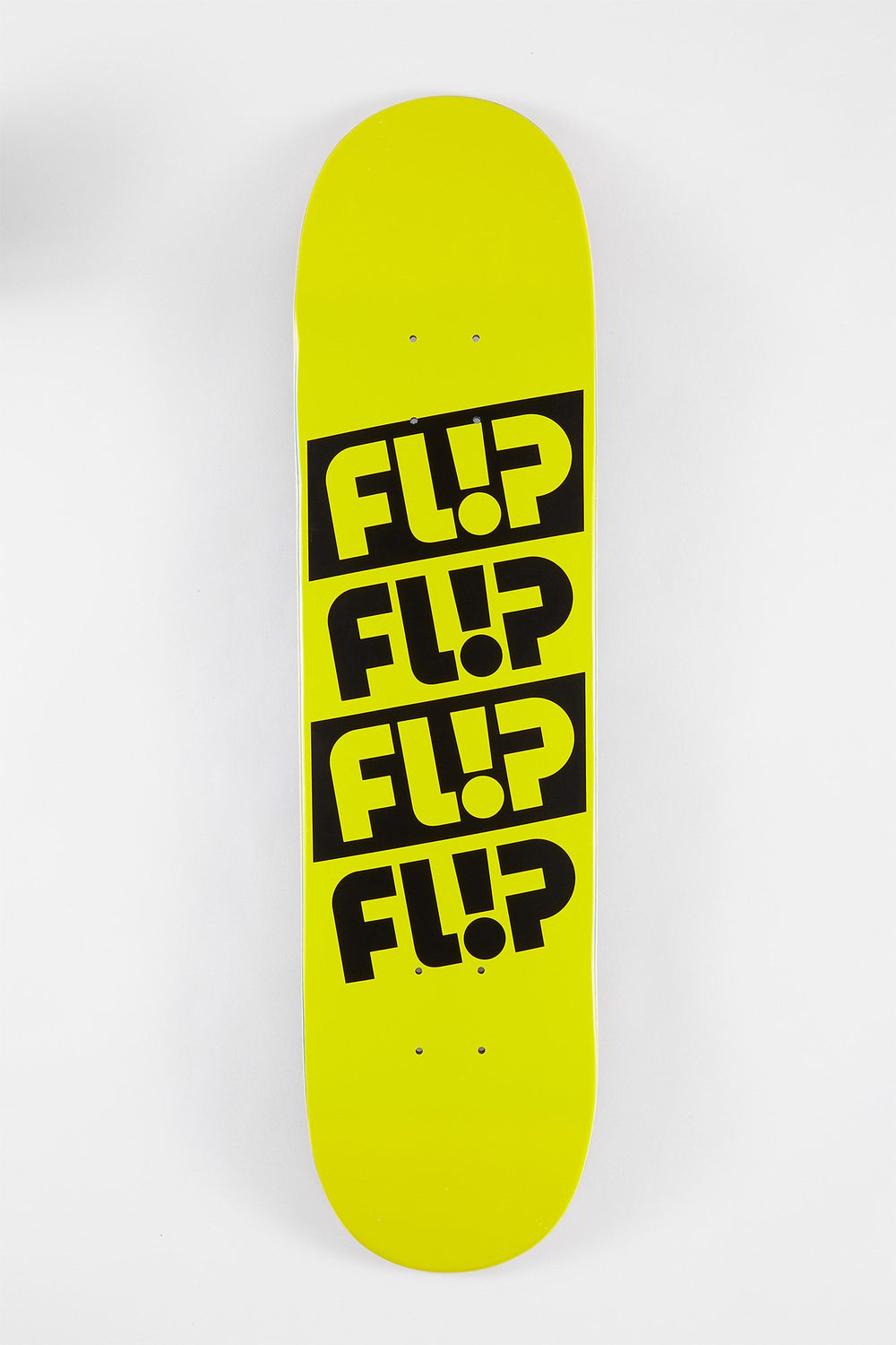 FLIP Team Odyssey Quattro Skateboard Deck Yellow