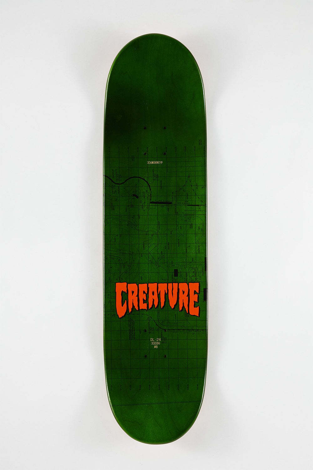 Creature Cody Lockwood Plans Skateboard Deck 8.5