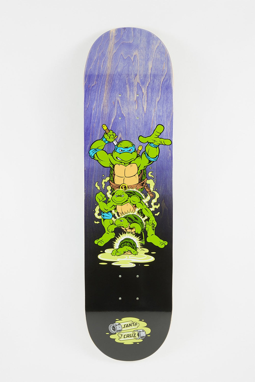 Ninja Turtles x Santa Cruz Leonardo Skateboard Deck Blue