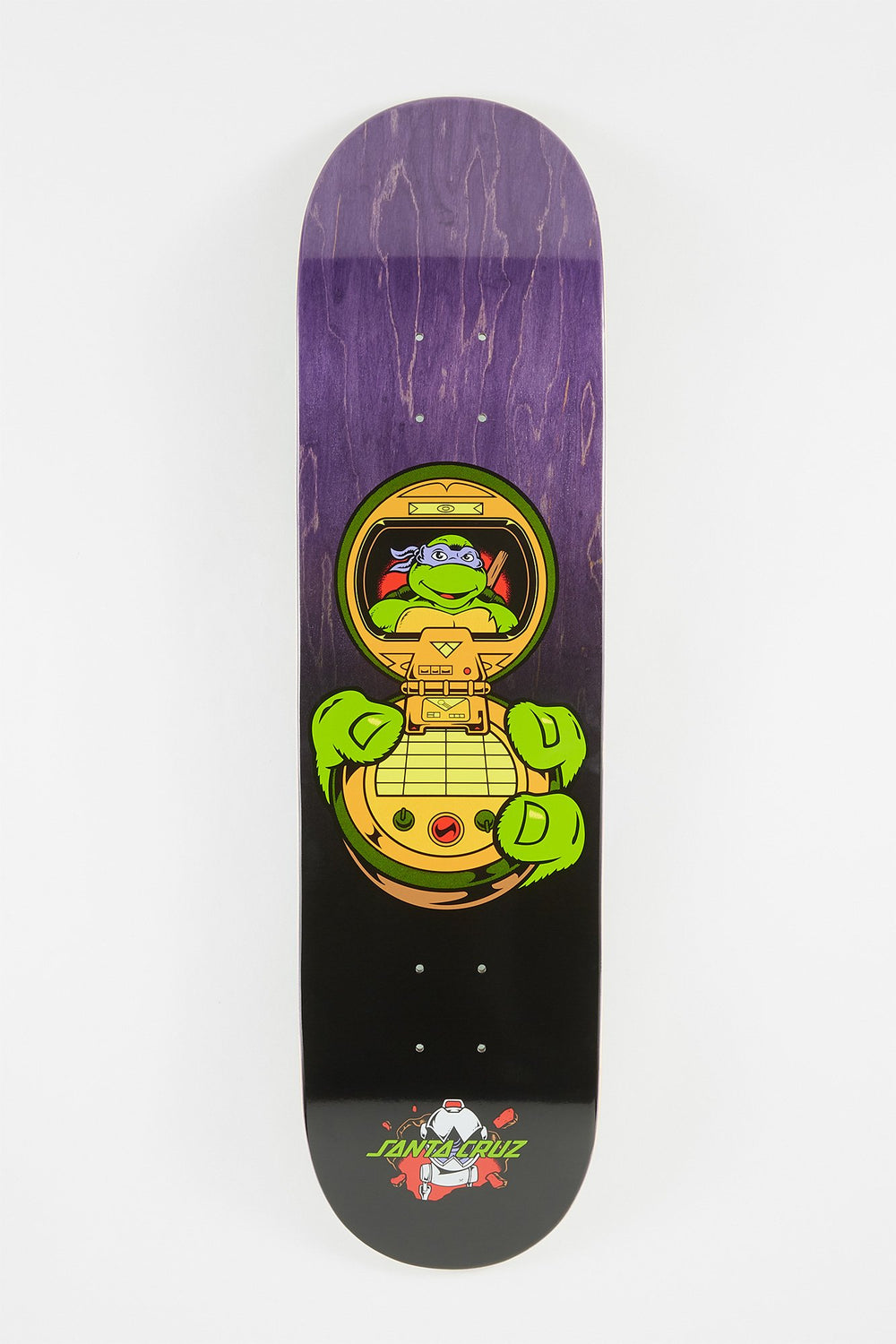 Ninja Turtles x Santa Cruz Donatello Skateboard Deck Purple