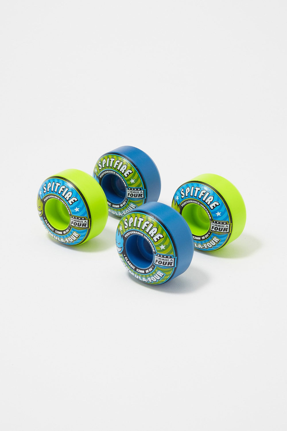 Spitfire Formula Four Wheels Mashup 52mm Blue