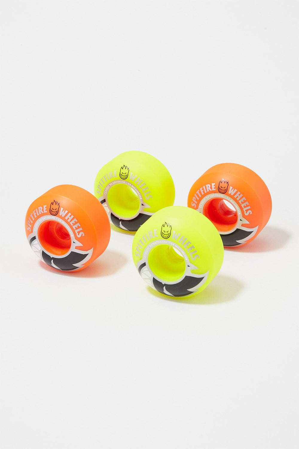 Spitfire Bighead Mashup 53mm Skateboard Wheels Orange