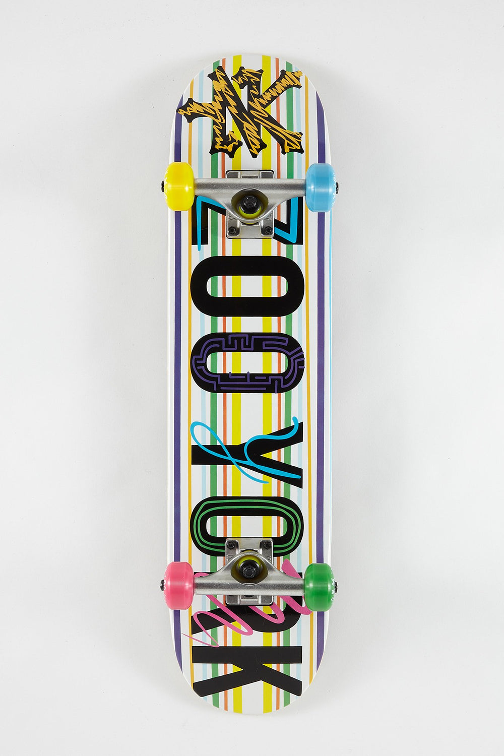Zoo York Scribbles Skateboard 7.5