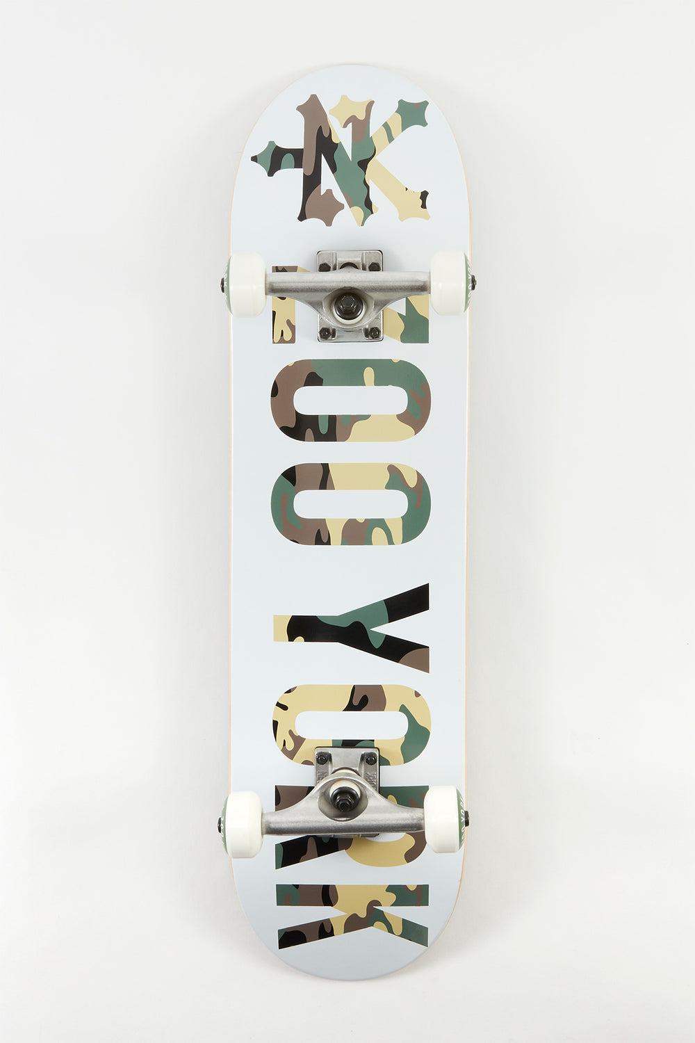 Zoo York Block Camo Skateboard 8