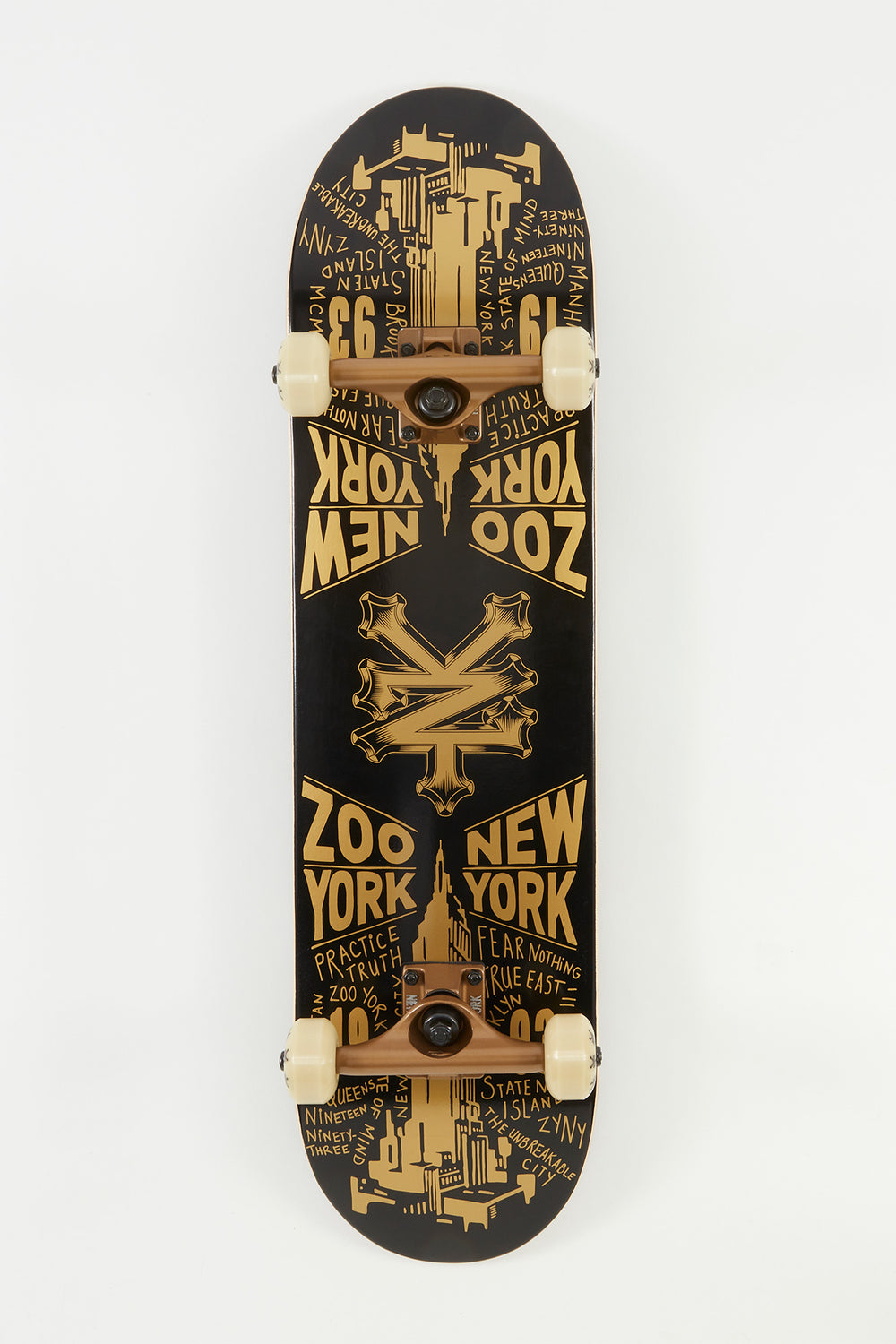 Skateboard Doré Zoo York 8
