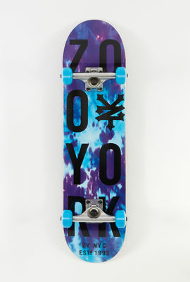 Zoo York Stacked Tie Dye Skateboard 8