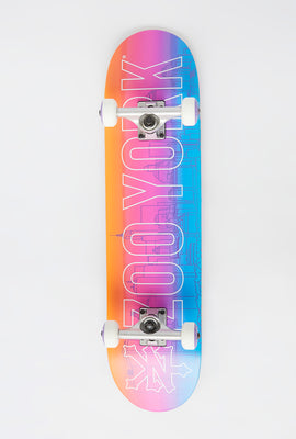 Zoo York Gradient Cityscape Complete Skateboard 7.5