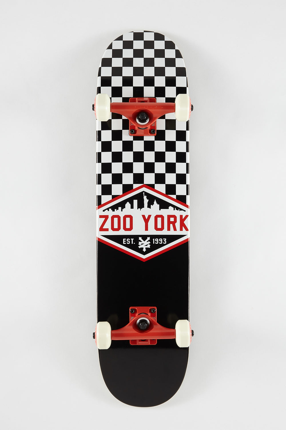 Skateboard Imprimé Carreaux Zoo York 7.5