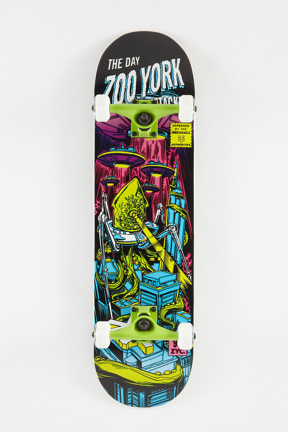 Zoo York Alien Skateboard 8.25
