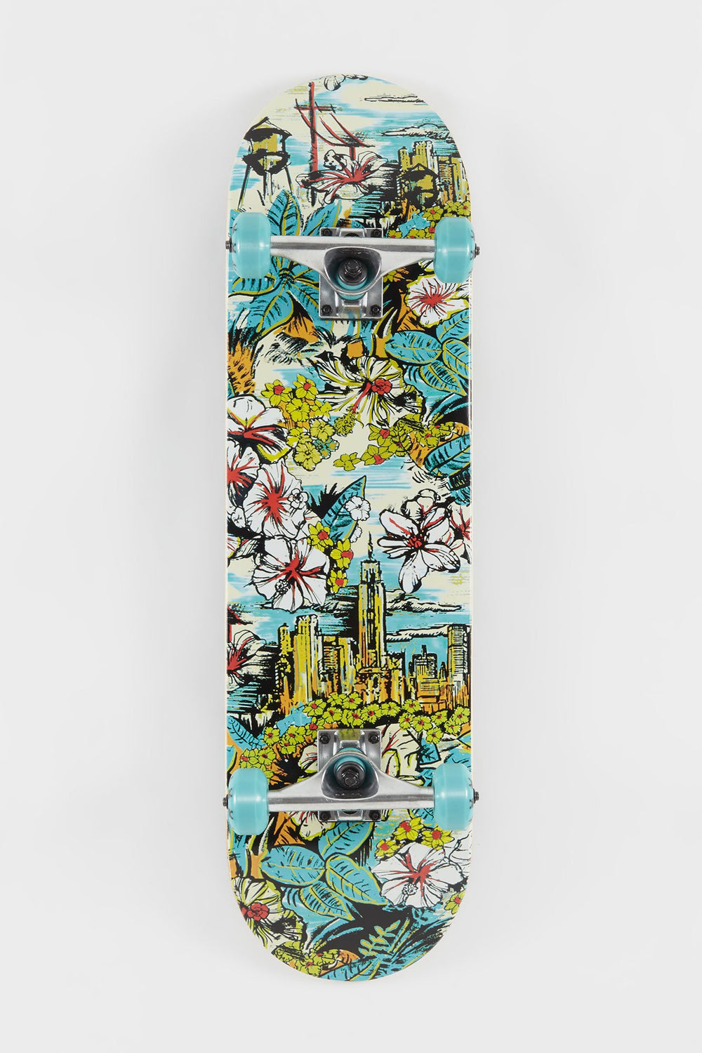 Zoo York All Boroughs Skateboard - 8.25