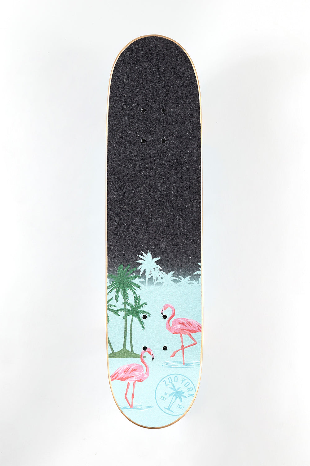 Zoo York Tropical Flamingo Skateboard 7.75