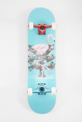 Skateboard Zoo York Flamant Rose 7.75