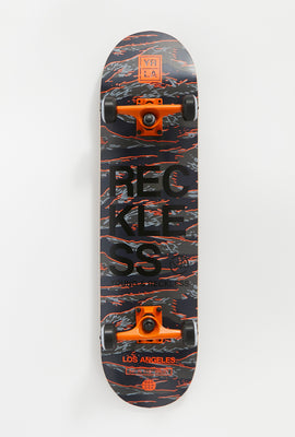 Young & Reckless Camo Skateboard 8