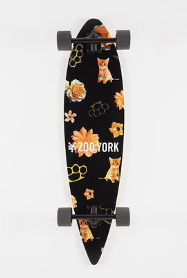 Zoo York Brass Cat Longboard 38