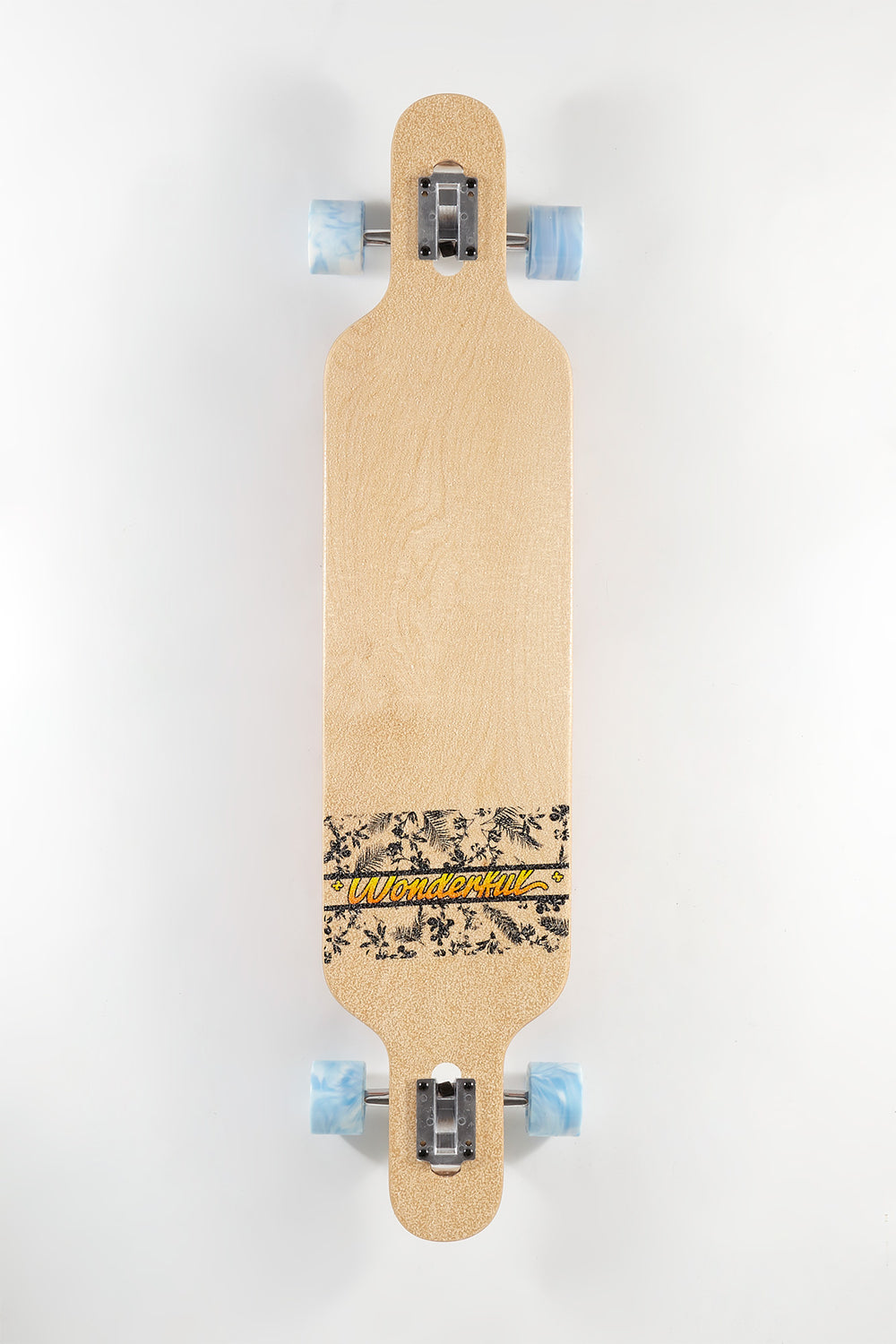 Wonderful Hawaiian Print Longboard 42