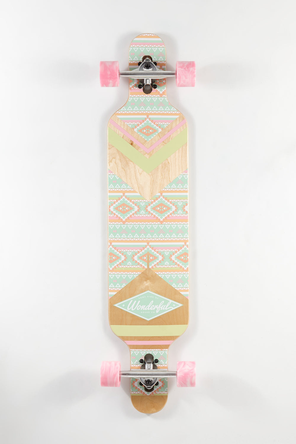 Wonderful Aztec Print Longboard 42
