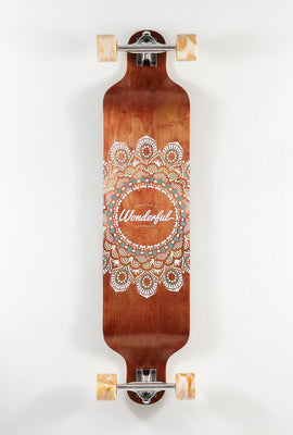 Longboard Imprimé Mandala Wonderful 40