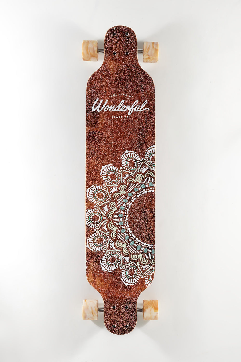 Wonderful Mandala Print Longboard 40
