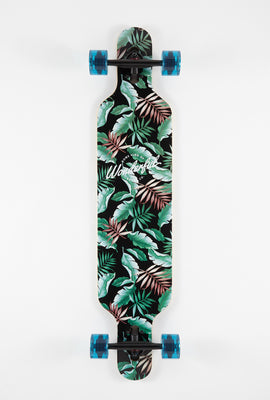 Wonderful Tropical Print Longboard 42