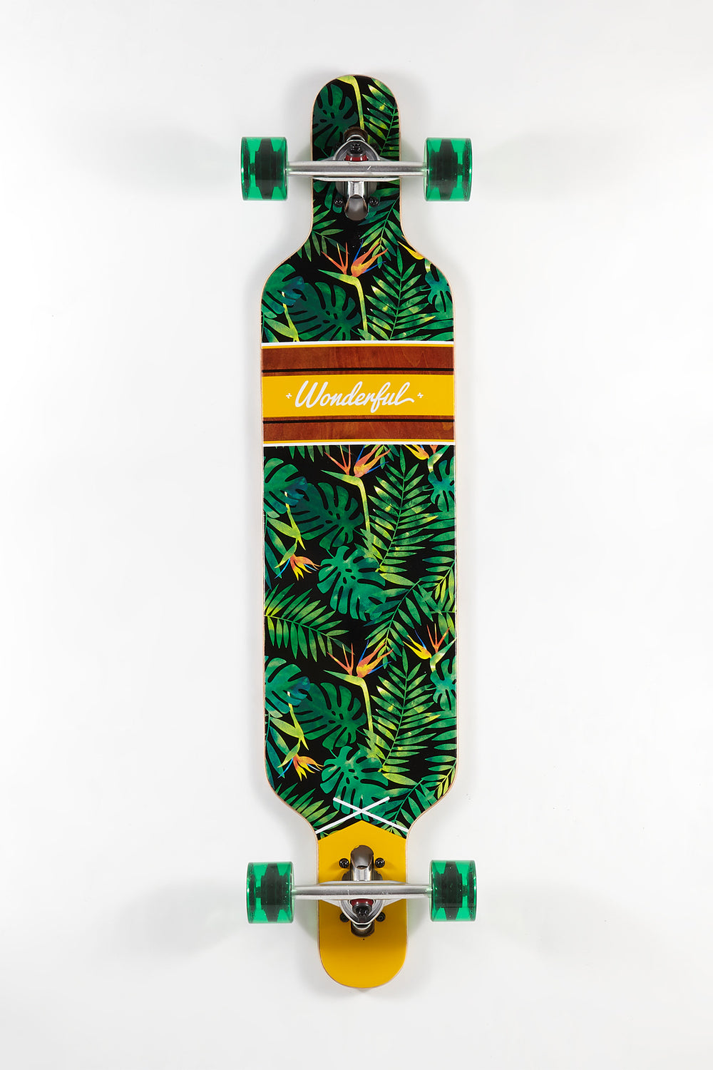 Wonderful Tropical Plant Print Longboard 42