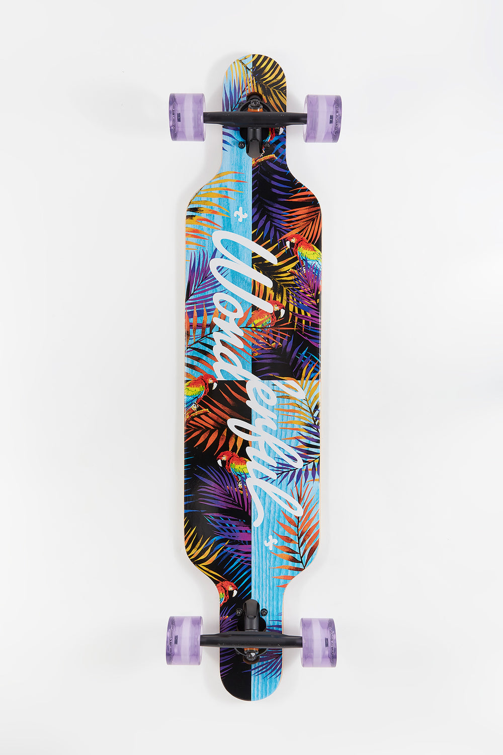 Wonderful Staggered Palms Longboard 42