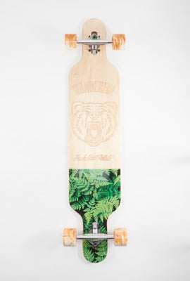 Wonderful Push Don't Pollute Longboard 41.75